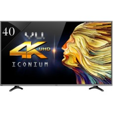 Deals, Discounts & Offers on Televisions - Flat  7% offer on Vu 102cm (40) Ultra HD (4K) Smart LED TV