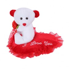 Deals, Discounts & Offers on Baby & Kids - Flat 56% offer on Teddy with Roses on Heart
