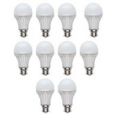 Deals, Discounts & Offers on Home Decor & Festive Needs - Combo of 10 White Plastic LED Bulbs at Rs 749 only
