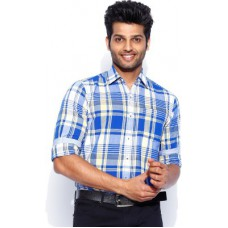 Deals, Discounts & Offers on Men Clothing - Lee Men's Checkered Casual Shirt