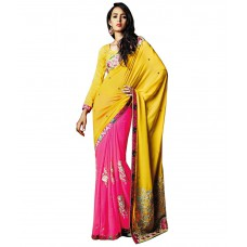 Deals, Discounts & Offers on Women Clothing - Flat 87% offer on Georgette Saree