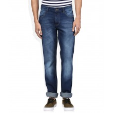 Deals, Discounts & Offers on Men Clothing - Newport Blue Slim Fit Jeans