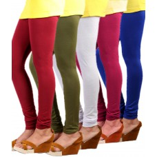 Deals, Discounts & Offers on Women Clothing - Flat 84% offer on Cotton Lycra Leggings