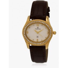 Deals, Discounts & Offers on Accessories - Gold Analog Watch at Flat 75% offer