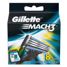Deals, Discounts & Offers on Men - Gillette Mach3 Blades - 8 Cartridges