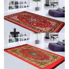 Deals, Discounts & Offers on Home Decor & Festive Needs - Traditional Carpet Combos at 70% Off