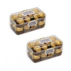 Deals, Discounts & Offers on Food and Health - Ferrero Rocher Chocolates- Pack of 2