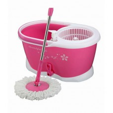 Deals, Discounts & Offers on Home Appliances - Birdy Pink Stainless Steel Mop