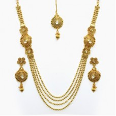 Deals, Discounts & Offers on Earings and Necklace - Flat 20% offer on Tatva Copper Jewel Set