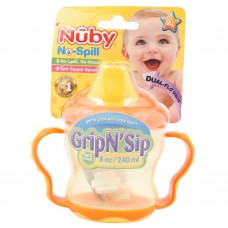 Deals, Discounts & Offers on Baby & Kids - Nuby 207ml Twin Handle Cup at Flat 48% off