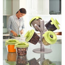 Deals, Discounts & Offers on Kitchen Containers - Flat 67% offer on Marvel Pop Up Spice Storage Stand