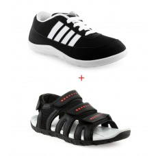 Deals, Discounts & Offers on Foot Wear - Rockstep Sports Shoes With Free Sandal