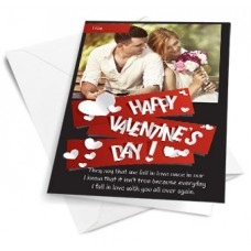 Deals, Discounts & Offers on Home Decor & Festive Needs - Valentine Special: Customized Greeting Card @ flat Rs.99.