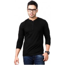 Deals, Discounts & Offers on Men Clothing - Top Notch Solid Men's Henley T-Shirt