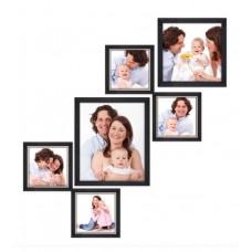 Deals, Discounts & Offers on Home Decor & Festive Needs - Flat 57% offer on Bello Photo Frames 6-piece Photo Frame Set