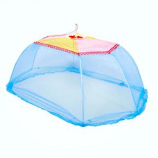 Deals, Discounts & Offers on Baby Care - Abstra Oval Blue Baby Mosquito Net