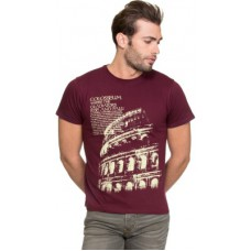 Deals, Discounts & Offers on Men Clothing - Zovi Printed Men's Round Neck T-Shirt