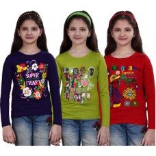 Deals, Discounts & Offers on Women Clothing - Casual Full Sleeve Printed Girl's Top