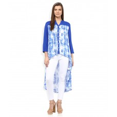 Deals, Discounts & Offers on Women Clothing - AND Blue Regular Collar Printed Tunic