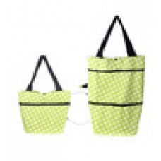 Deals, Discounts & Offers on Accessories - Kawachi Green Canvas Shopping Bag