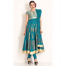 Deals, Discounts & Offers on Women Clothing - Biba By Rohit Bal Churidaar Kurta Dupatta