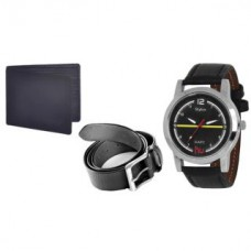 Deals, Discounts & Offers on Accessories - Buy Stylox Watch With Belt And Wallet