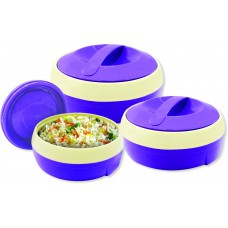 Deals, Discounts & Offers on Home & Kitchen - Princeware Solar Plastic Casserole - 3 Set