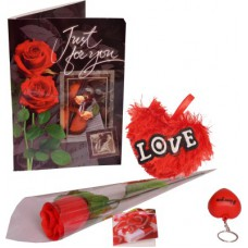 Deals, Discounts & Offers on Home Decor & Festive Needs - Flat 58% offer on Indigo Creatives Valentine Gift Set