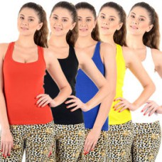 Deals, Discounts & Offers on Mobiles - Mynte Women's Camisole - Pack Of 5