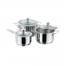 Deals, Discounts & Offers on Home Appliances - Vinod Cookware 3Pc Induction Friendly Tuscany Collection