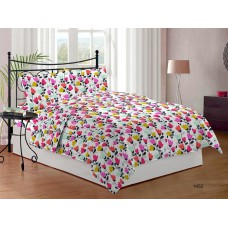 Deals, Discounts & Offers on Home Appliances - Bombay Dyeing Cynthia Polycotton Double Bedsheet with 2 Pillow Covers