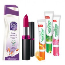 Deals, Discounts & Offers on Health & Personal Care - Winter Deal of days Boro Plus Advanced, 2 Lip Balm and Lipstic