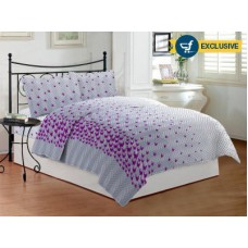 Deals, Discounts & Offers on Home Decor & Festive Needs - Bombay Dyeing Cotton Floral Double Bedsheet