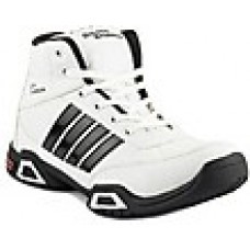 Deals, Discounts & Offers on Foot Wear - Golden Sparrow White & Black Men Training & Gym Shoes at Rs 395 only