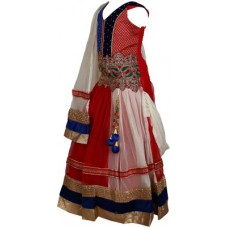 Deals, Discounts & Offers on Baby & Kids - Crazeis Embroidered Girl's Lehenga, Choli and Dupatta Set