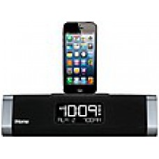 Deals, Discounts & Offers on Electronics - iHome USB Charge Speaker System for Apple with Lightning Dock, FM and Alarm - iDL45