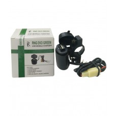 Deals, Discounts & Offers on Car & Bike Accessories - Rng Eko Green Motor Bike Usb Mobile Charger For Two Wheelers