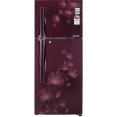 Deals, Discounts & Offers on Home Appliances - LG GLD302JSFL 285 L Double Door Refrigerator