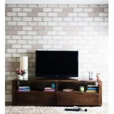 Deals, Discounts & Offers on Home Appliances - Palencia Solid Wood Entertainment Unit in Provincial Teak Finish by Woodsworth