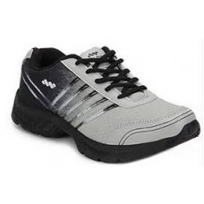 Deals, Discounts & Offers on Men - Spunk Grey & Black Men Sports Shoes at Rs 699 only