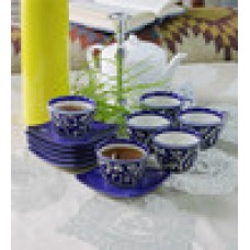 Deals, Discounts & Offers on Home & Kitchen - 150 ML Mughal Art 12-piece Cup and Saucer Set