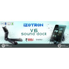 Deals, Discounts & Offers on Electronics - Wow deal on Greendust get iZOTRON V6 Bluetooth Sound Dock