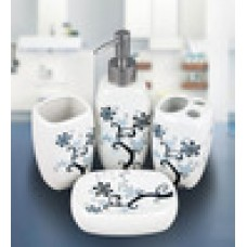 Deals, Discounts & Offers on Accessories - Birdy Ceramic Bathroom Set