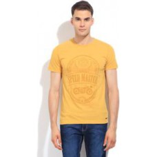 Deals, Discounts & Offers on Men Clothing - Peter England Men's T-Shirt