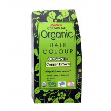Deals, Discounts & Offers on Health & Personal Care - Radico Colour Me Organic Copper Brown Hair Colour - 100gm