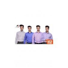 Deals, Discounts & Offers on Men Clothing - Adventure Four Elegant Formal Shirts
