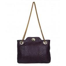 Deals, Discounts & Offers on Women - Hidesign Purple Shoulder Bag