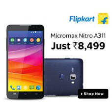 Deals, Discounts & Offers on Mobiles - Micromax Nitro A311 - EXTRA Rs.1,000 OFF
