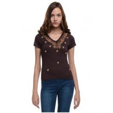 Deals, Discounts & Offers on Women Clothing - Lavennder Short Sleeves Top offer
