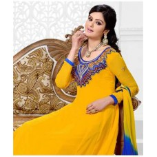 FashionandYou Offers and Deals Online - Georgette Suit With Dupatta offer